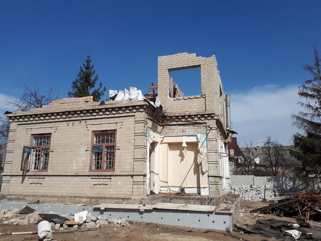 Демонтаж кирпичного дома в Приднепровске  10