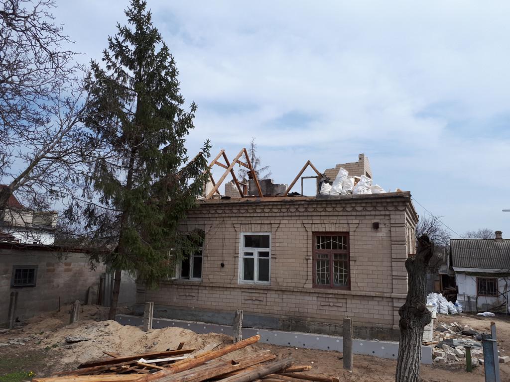 Демонтаж кирпичного дома в Приднепровске  11
