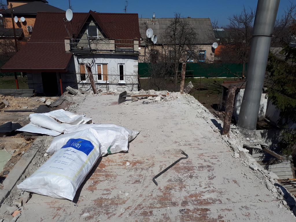 Демонтаж кирпичного дома в Приднепровске  14