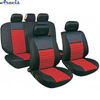 Чехлы на сиденья MILEX Tango AG-24016/7 2пер+2задн+5подг+опл/красные