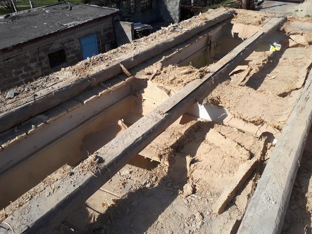 Демонтаж кирпичного дома в Приднепровске  16