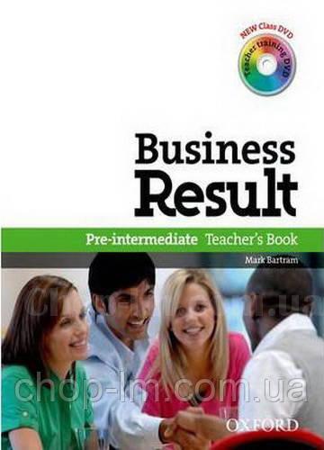Business Result Pre-Intermediate teacher's Book Pack