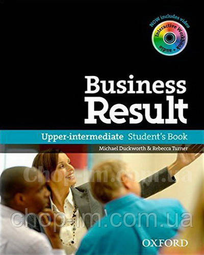 Business Result Upper-Intermediate Student's Book with DVD-ROM and Online WorkBook Pack