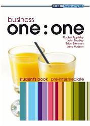 Business one:one Pre-Intermediate Student's Book with MultiROM / Учебник с диском