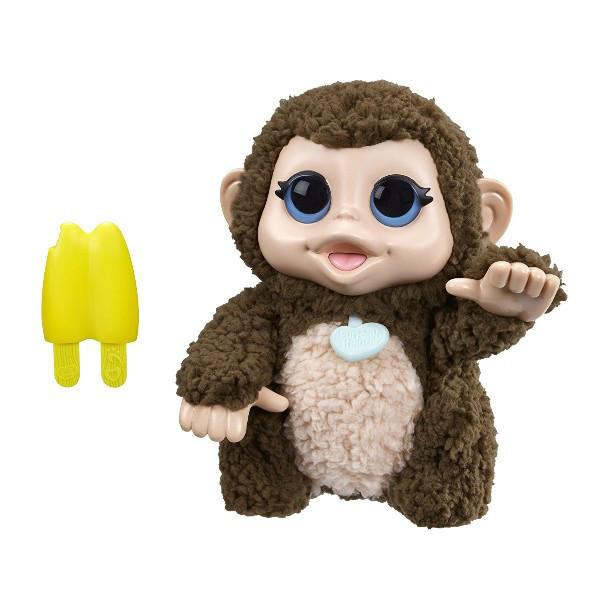 FurReal Интерактивная обезьянка с бананом Friends Lil' Big Paws Giddy Banana Monkey