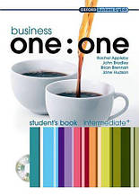 Business one:one Intermediate Plus Student's Book with MultiROM / Учебник с диском
