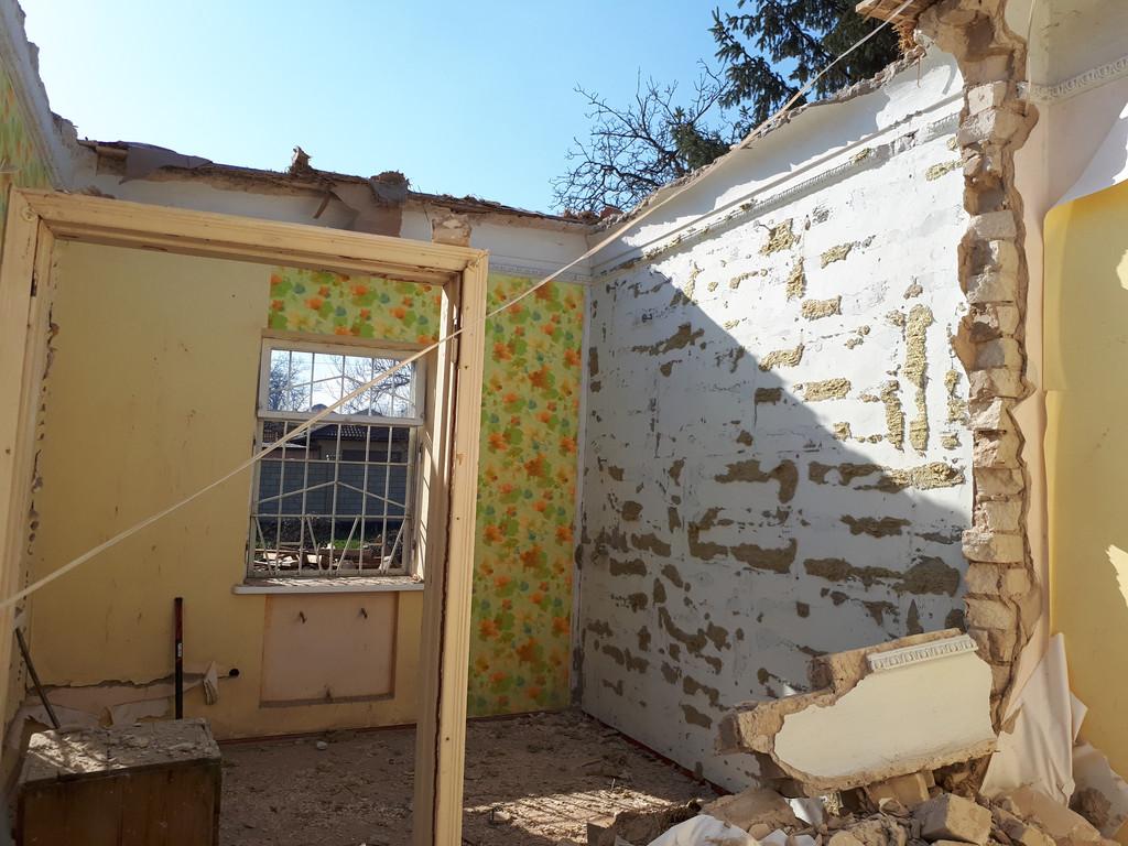 Демонтаж кирпичного дома в Приднепровске  21