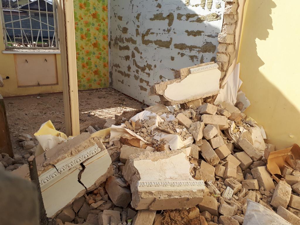 Демонтаж кирпичного дома в Приднепровске  23