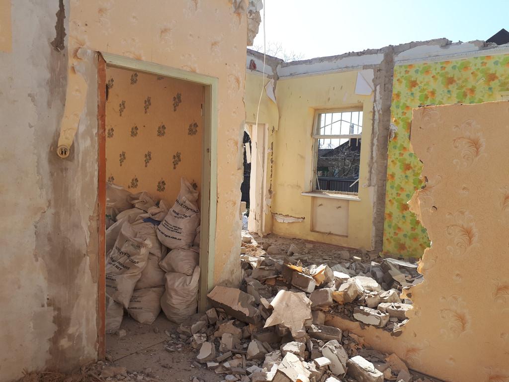 Демонтаж кирпичного дома в Приднепровске  24