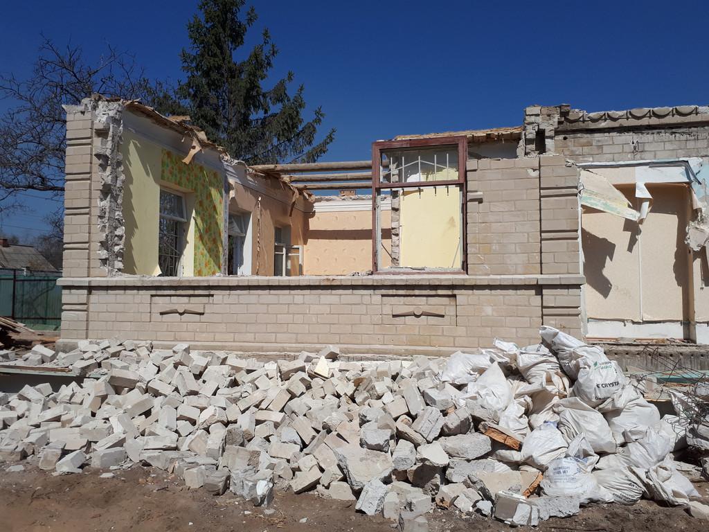 Демонтаж кирпичного дома в Приднепровске  25
