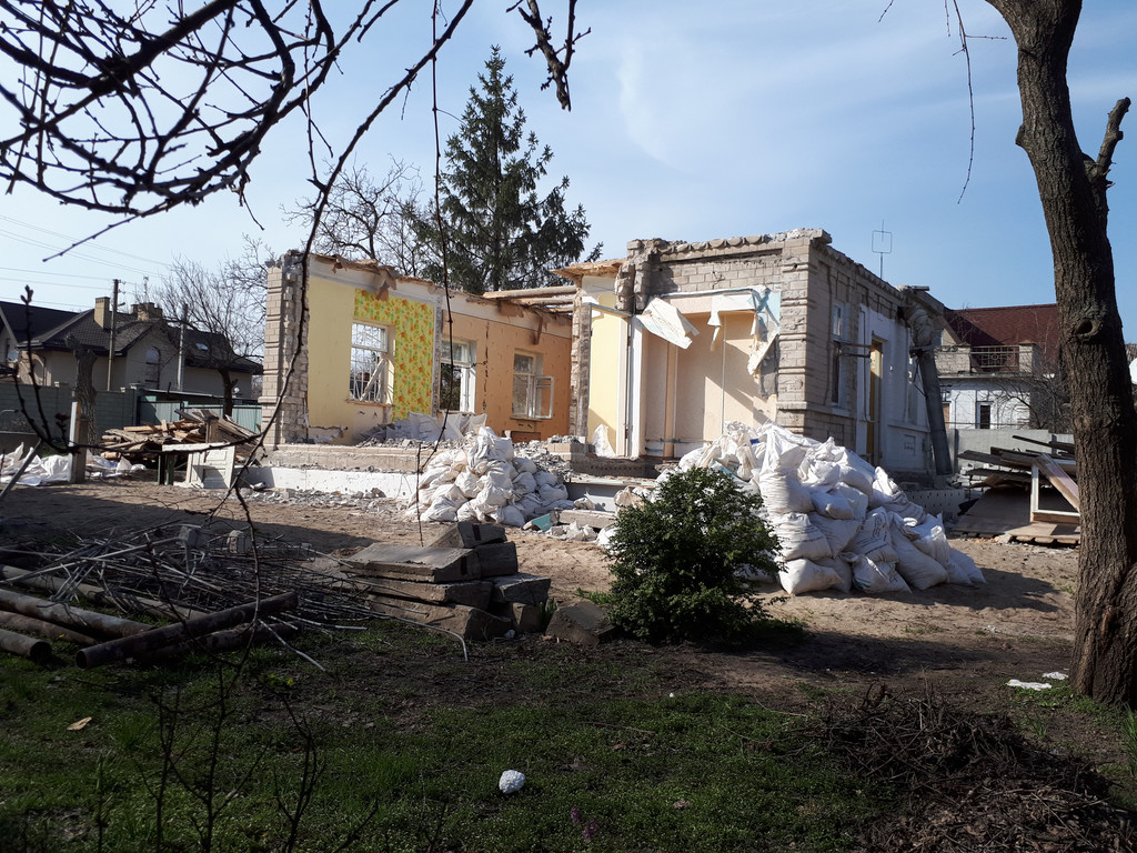 Демонтаж кирпичного дома в Приднепровске  26