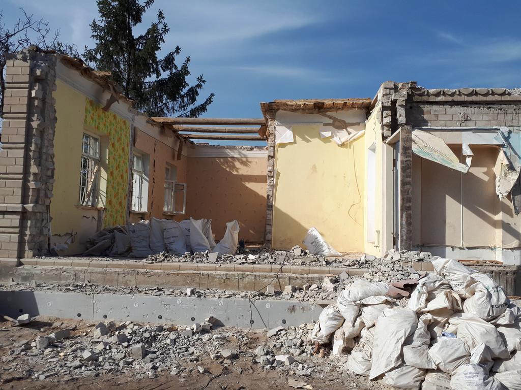 Демонтаж кирпичного дома в Приднепровске  27