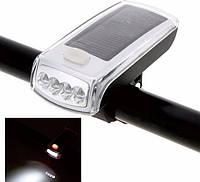 Велосипедный фонарь, велофара аккумулятор + панель XC-990 , фото 1