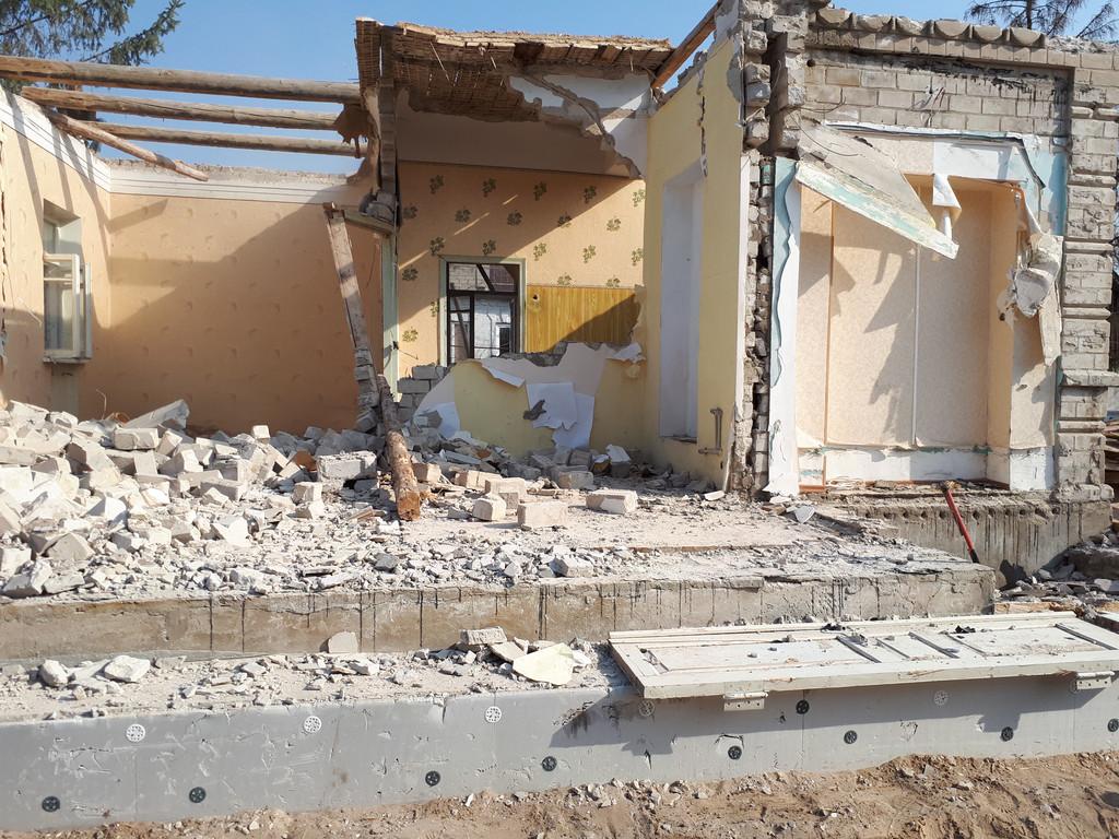Демонтаж кирпичного дома в Приднепровске  28