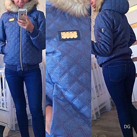 Зимняя женская куртка Philipp Plein , фото 2