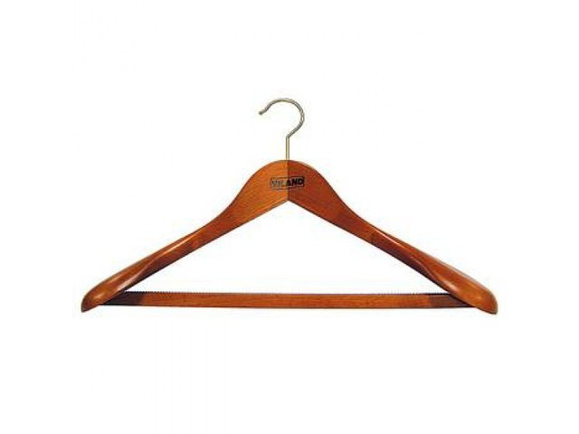 Вешалка для тяжелой одежды «вишня»