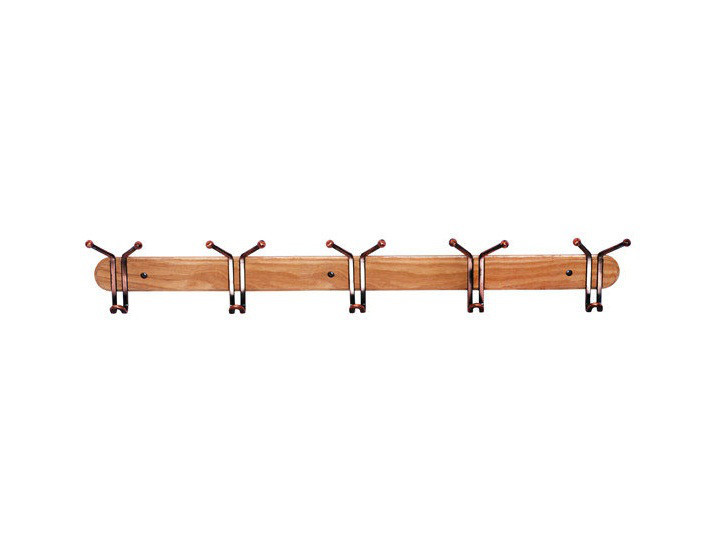 Вешалка настенная деревянная 905A (5 крючка)