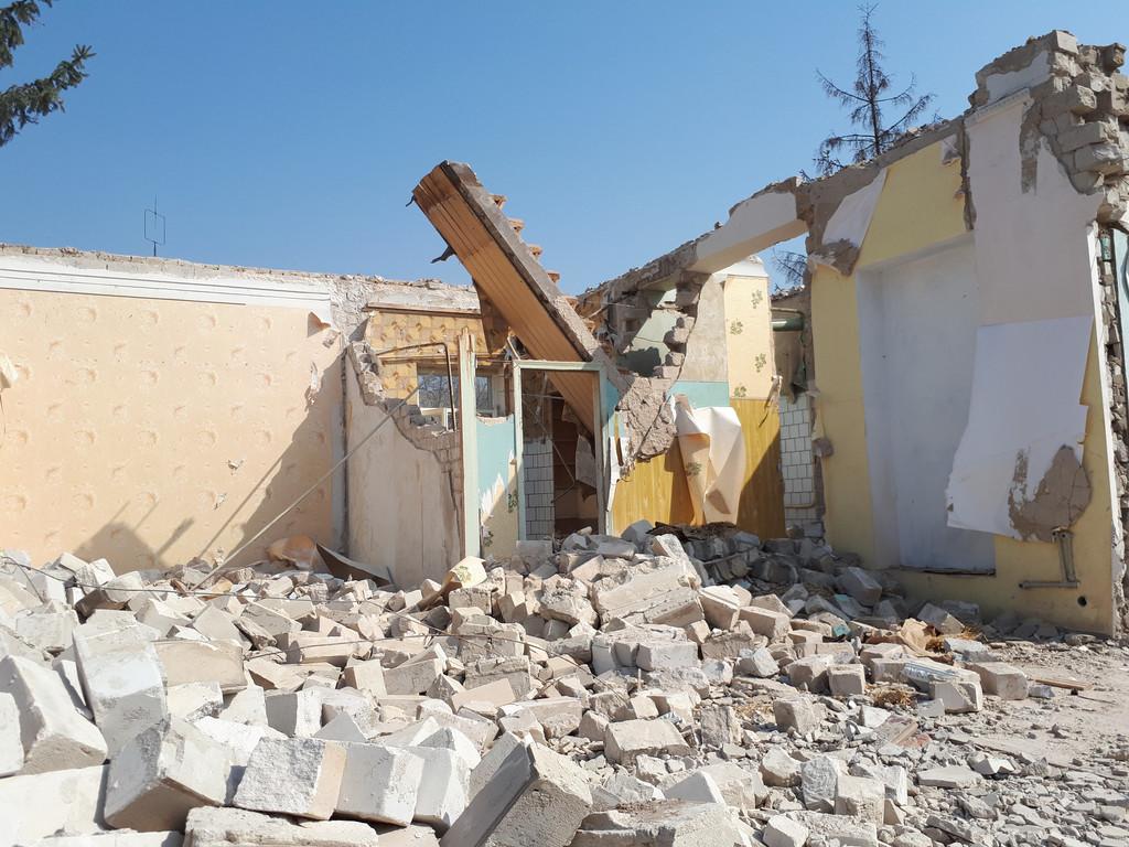 Демонтаж кирпичного дома в Приднепровске  30