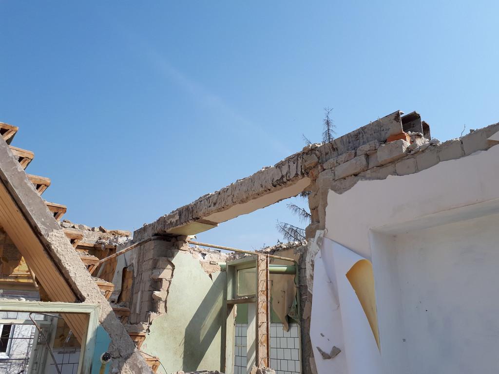 Демонтаж кирпичного дома в Приднепровске  31