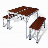 Комплект мебели складной (2 лавки + стол)
