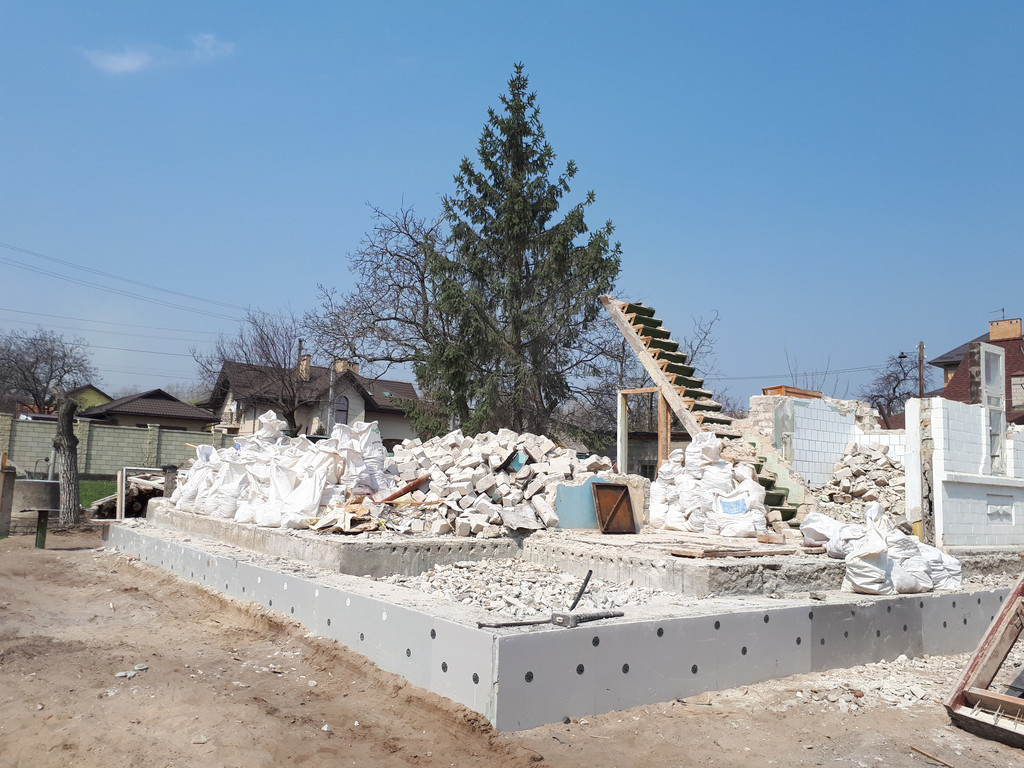 Демонтаж кирпичного дома в Приднепровске  34