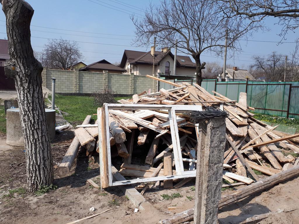 Демонтаж кирпичного дома в Приднепровске  36