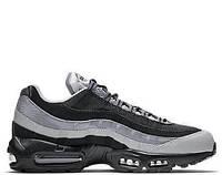 Мужские кроссовки Найк Nike Air Max 95 Essential Black - Wolf Grey Арт.0834