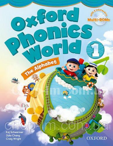 Oxford Phonics World 1 The Alphabet Student's Book with MultiROM / Учебник с диском