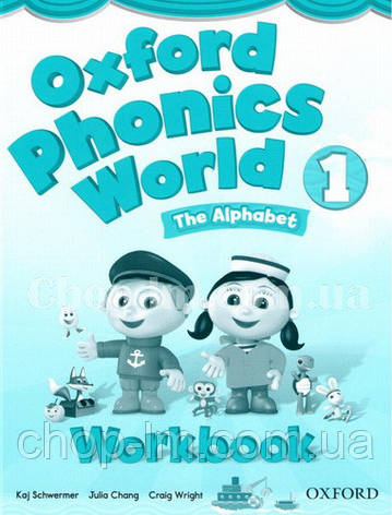 Oxford Phonics World 1 The Alphabet Workbook / Рабочая тетрадь, фото 2