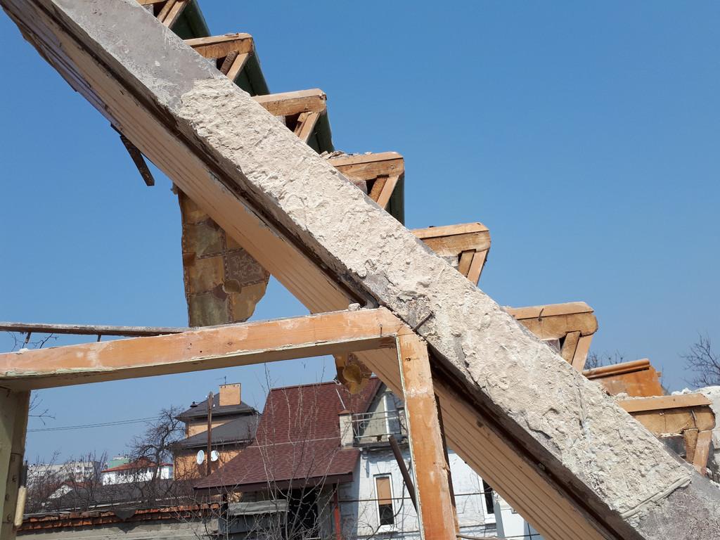 Демонтаж кирпичного дома в Приднепровске  37