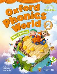 Oxford Phonics World 2 Short Vowels Student's Book with MultiROM / Учебник с диском