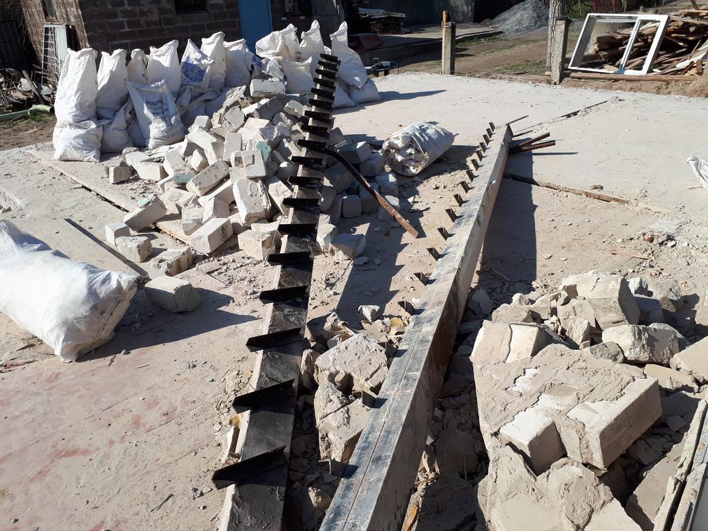 Демонтаж кирпичного дома в Приднепровске  39