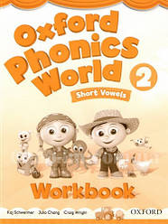 Oxford Phonics World 2 Short Vowels Workbook / Рабочая тетрадь