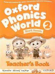 Oxford Phonics World 2 Short Vowels Teacher's Book / Книга для учителя