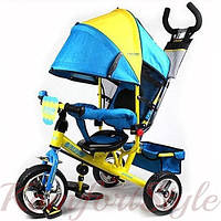 Детский трехколесный велосипед, надувное колесо, M5361-01UKR