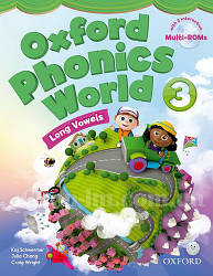 Oxford Phonics World 3 Long Vowels Student's Book with MultiROM / Учебник с диском
