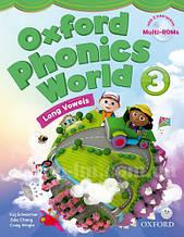 Oxford Phonics World 3 Long Vowels Student's Book with MultiROM / Учебник с диском