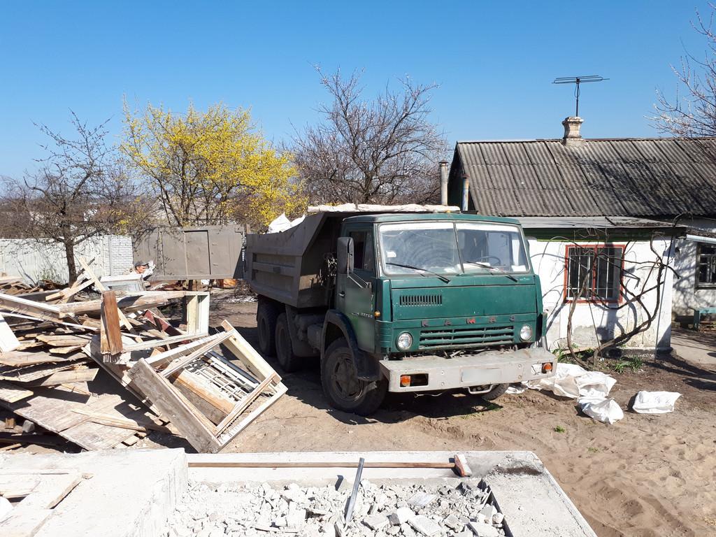 Демонтаж кирпичного дома в Приднепровске  41