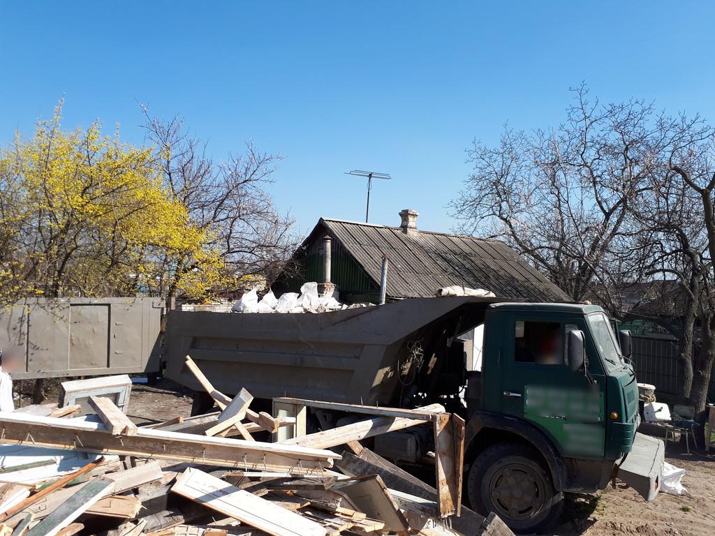 Демонтаж кирпичного дома в Приднепровске  42