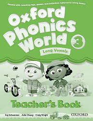 Oxford Phonics World 3 Long Vowels Teacher's Book / Книга для учителя