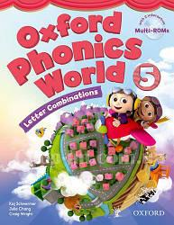 Oxford Phonics World 5 Letter Combinations Student's Book with MultiROM / Учебник с диском