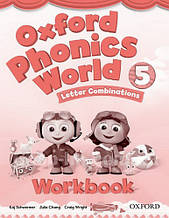 Oxford Phonics World 5 Letter Combinations Workbook / Рабочая тетрадь