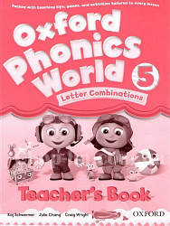 Oxford Phonics World 5 Letter Combinations Teacher's Book / Книга для учителя