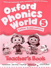 Oxford Phonics World 5 Letter Combinations Teacher's Book / Книга для учителя