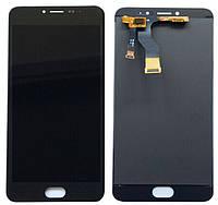 Дисплей для Meizu M3 Note (L681H) + touchscreen тачскрин (экран + сенсор модуль),Черный