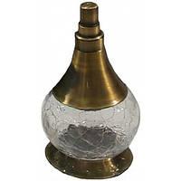 Баночка для аксессуаров в ванную стекло-бронза Kugu Freestand 940A