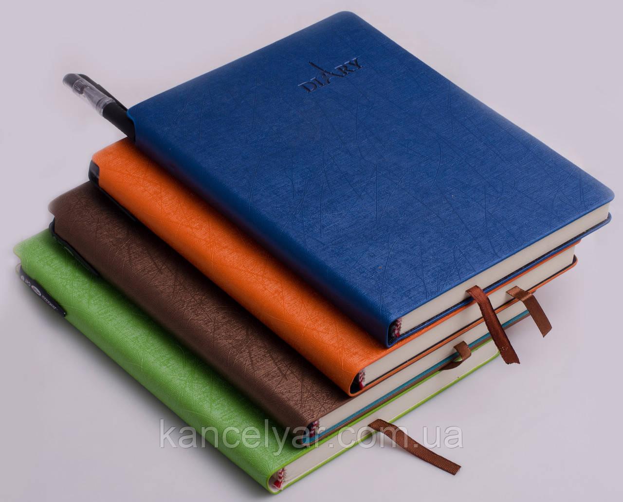 Блокнот з ручкою, клітинка, 120 аркушів, А5, в асортименті