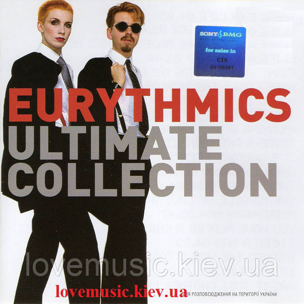 Музичний сд диск EURYTHMICS Ultimate collection (2005) (audio cd)