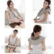 Массажер для спины, шеи и поясницы Cervical Massage Shawls, фото 3