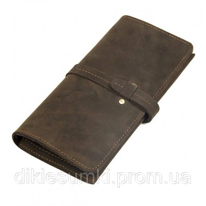 ec6c68c1902c Мужской клатч портмоне TIDING BAG из лошадиной кожи 8180R в Интернет ...